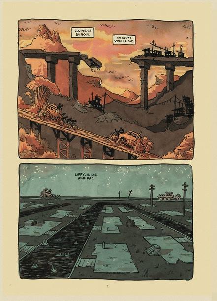 La Fange, Histoire des arnaqueurs de Falter City